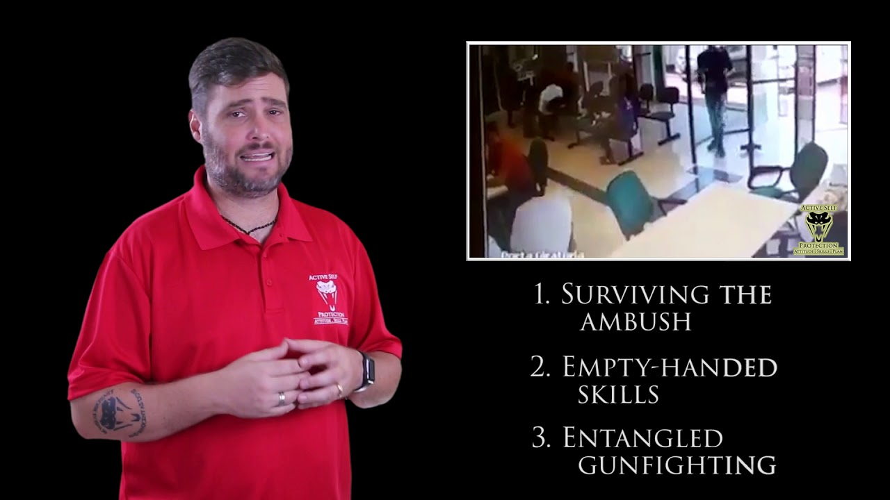 Security Guard Exhibits Exceptional Empty-Handed Skills   Active Self Protection