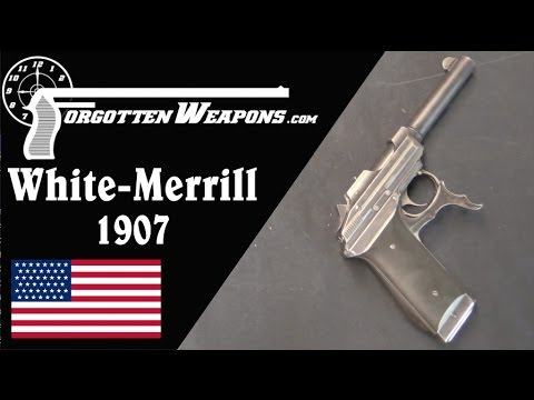 US Test Trials White-Merrill .45 Caliber Pistol