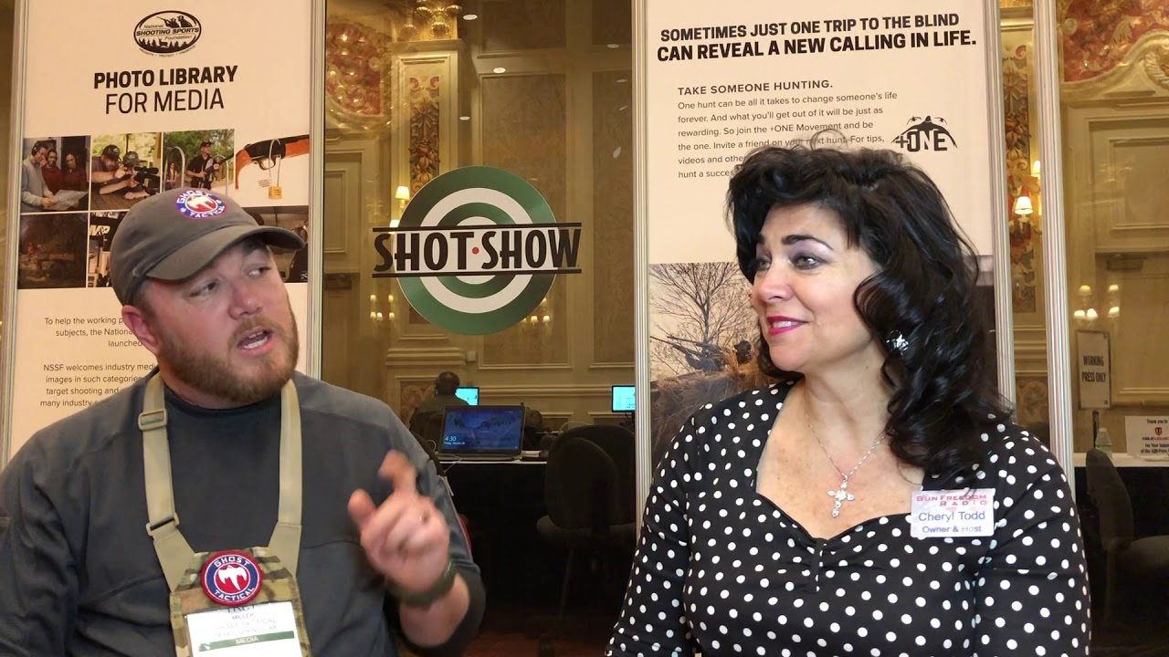 SHOT Show 2019 GFR Interview with Trey Miller of Ghost Tactical