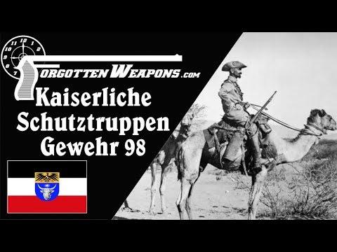 Kaiserliche Schutztruppen G98 - for the German Camel Corps