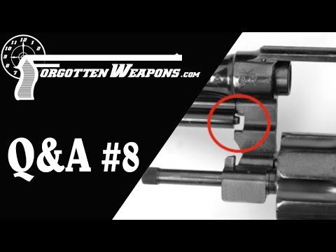 Q&A #8: Triple Locks, New gun development, and the .50 Cal Lewis Gun