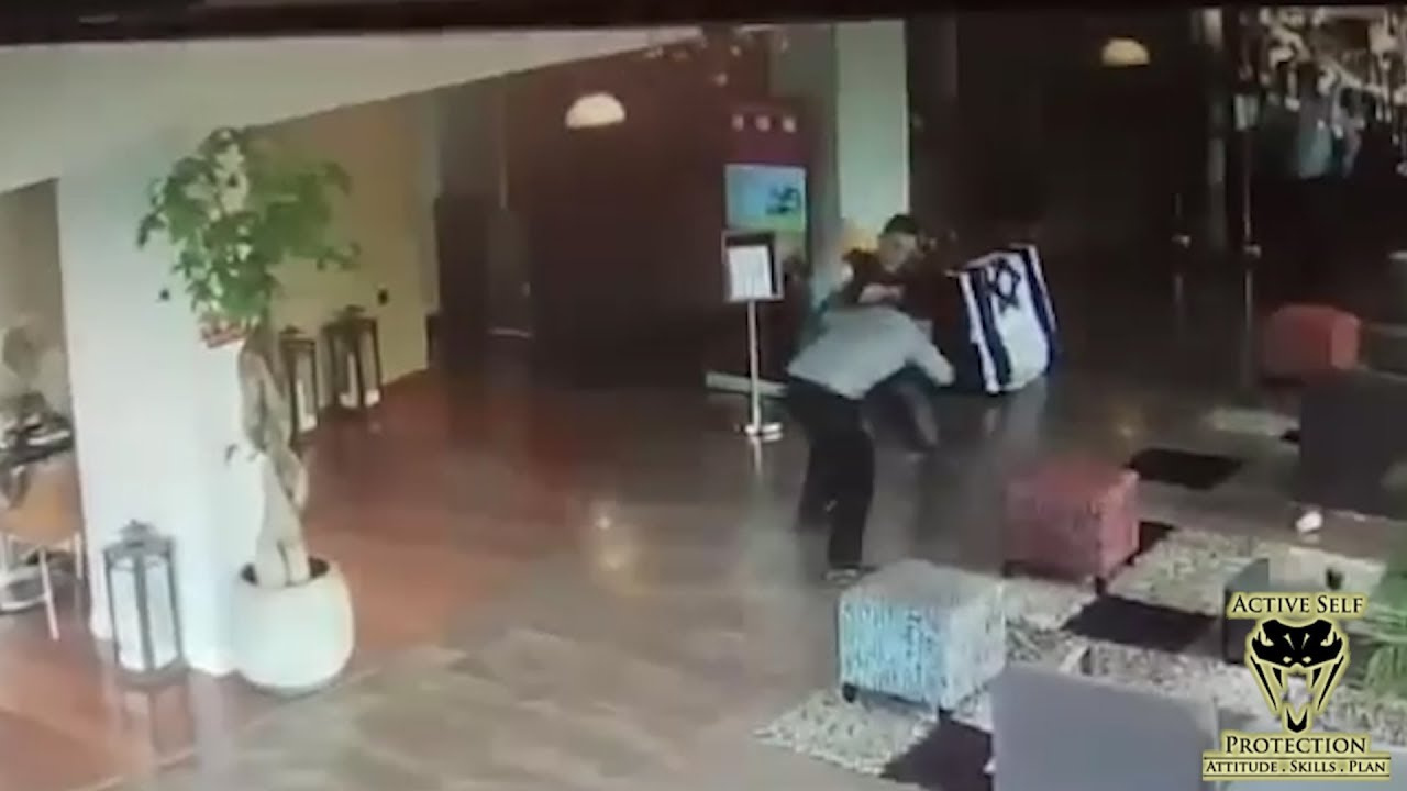 Sneak Attack Caught on CCTV | Active Self Protection