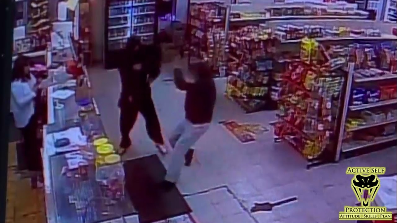 Armed Robber Gets What He Wants | Active Self Protection