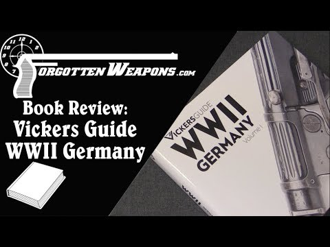 Book Review: Vickers Guide WWII Germany (Volume I)