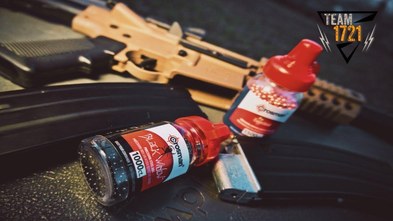 Crosman Bushmaster MPW Trick Shots