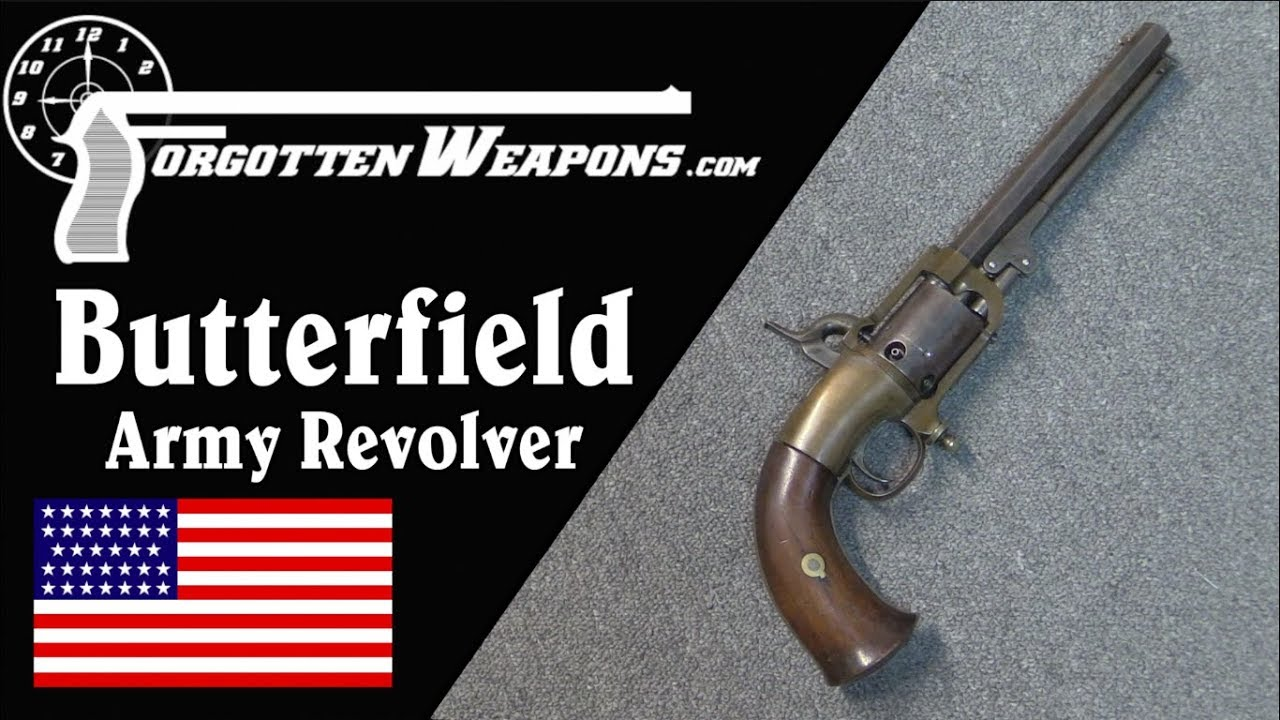 The Butterfield Army Revolver and its Automatic Priming