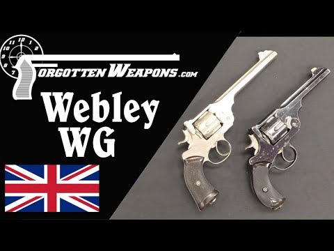 Classic Imperial British Revolvers: the Webley WG Army and Target