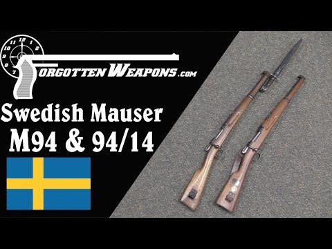 Swedish Mauser Carbines - m/94 and m/94-14