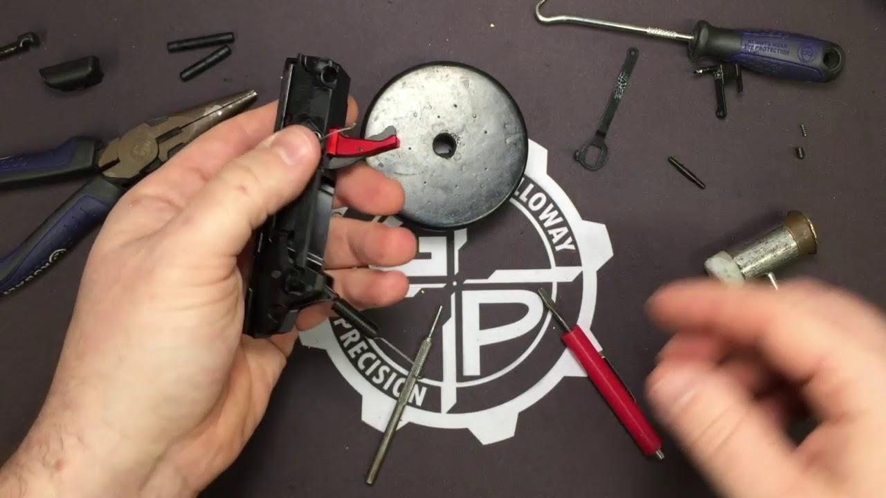 Ruger Security-9 Seneschal Trigger