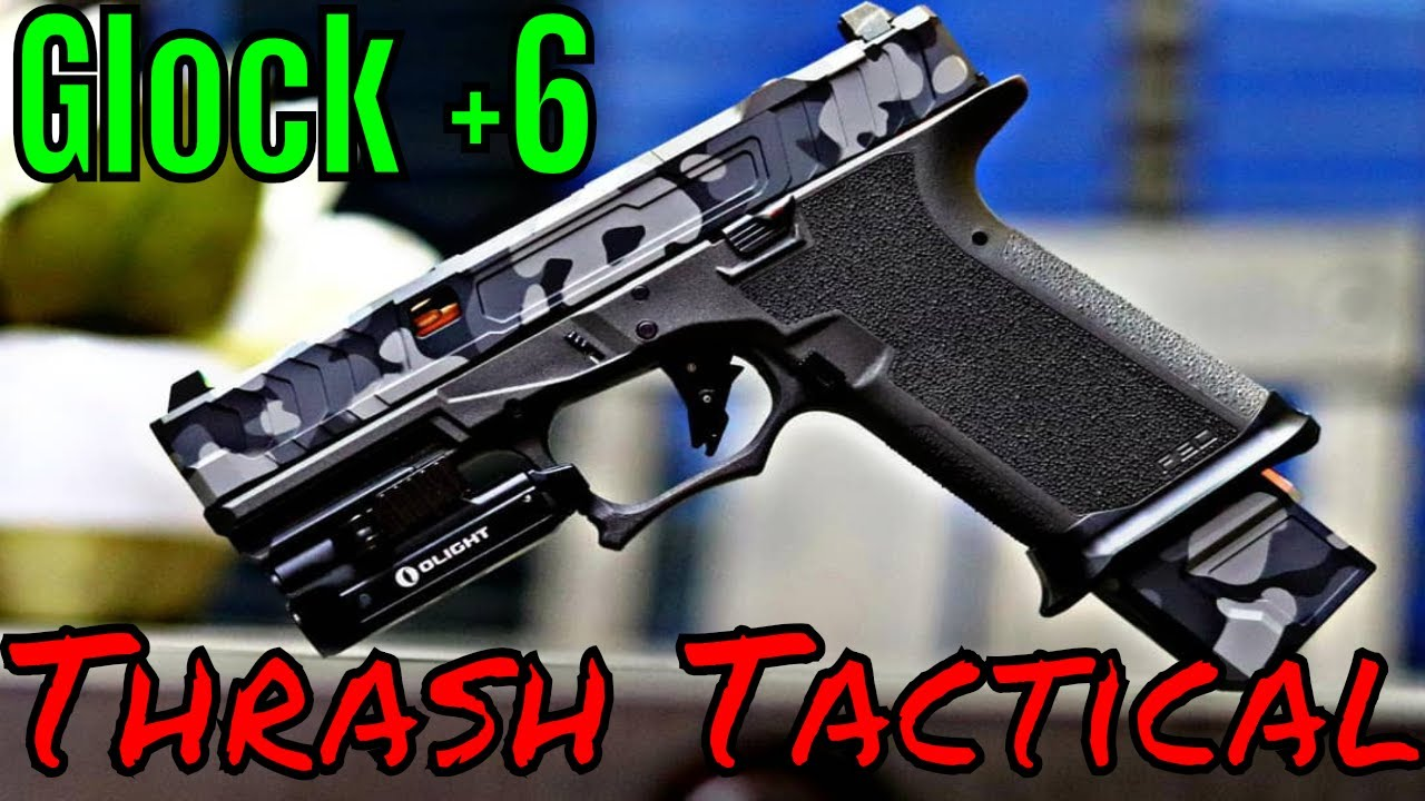 Thrash Tactical Mag Extension Up Your Game!
