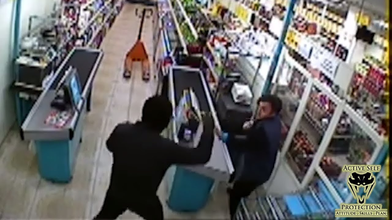 Don't Resist Half-Way Against a Robber | Active Self Protection