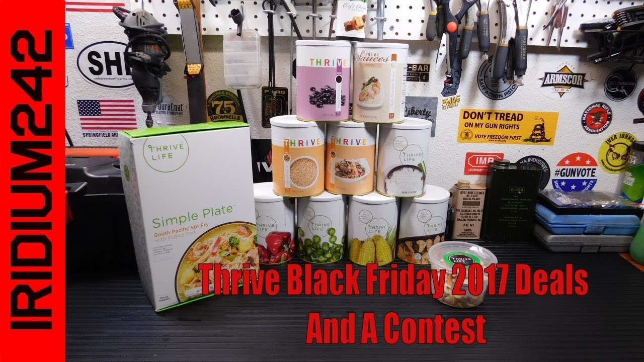 Thrive Black Friday 2017 Deals And A Contest