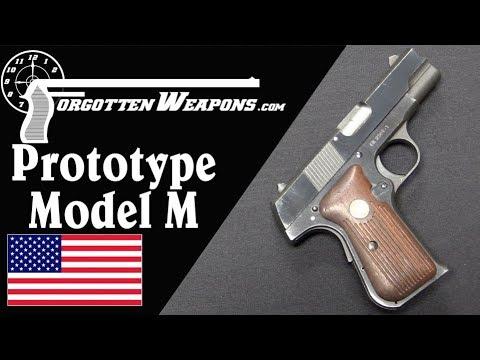 Colt's Prototype Post-War Pocket Hammerless Model M