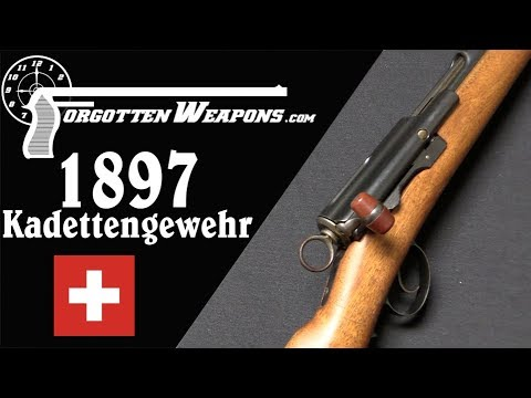 Swiss 1897 Schmidt-Rubin Kadettengewehr Training Rifle