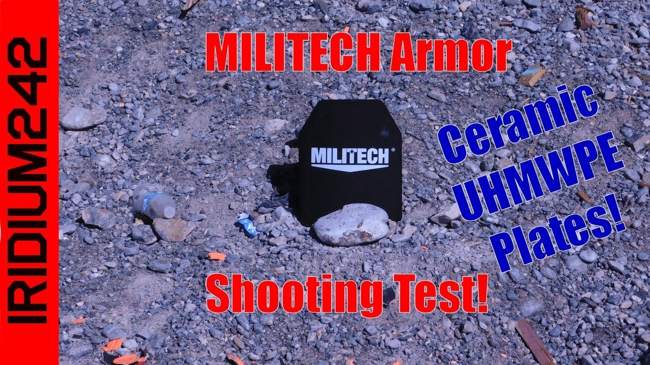 Ceramic Body Armor By Militech Shot And Tested!
