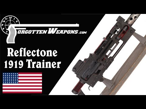 Browning M1919A6 Double Size Training Model Machine Gun