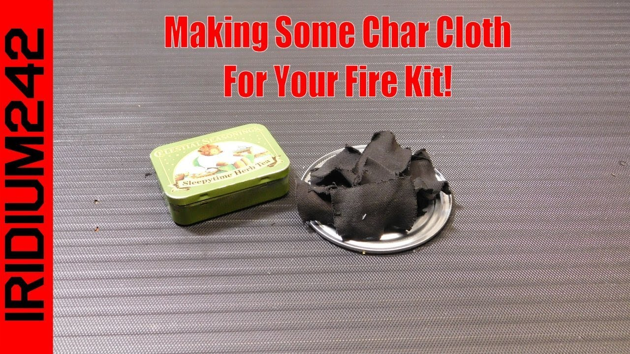 A Simple Way To Make Char Cloth
