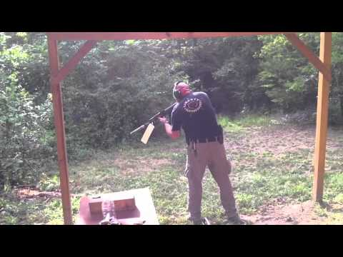 Mystic suppressor on an AK47 torture test
