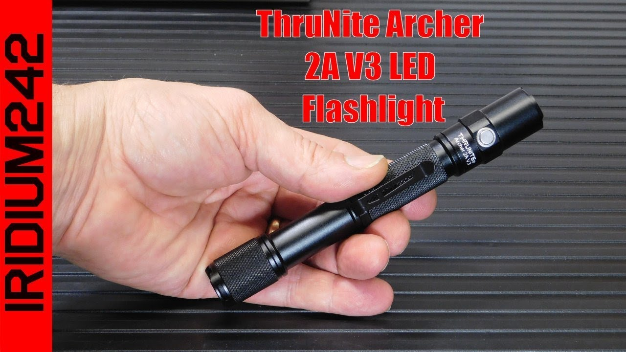 ThruNite Archer 2A V3 LED Flashlight: Very cool!
