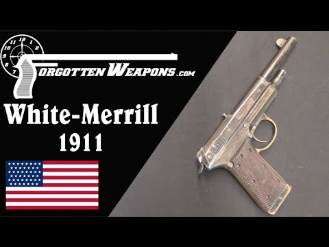 White-Merrill Experimental Model 1911 Pistol