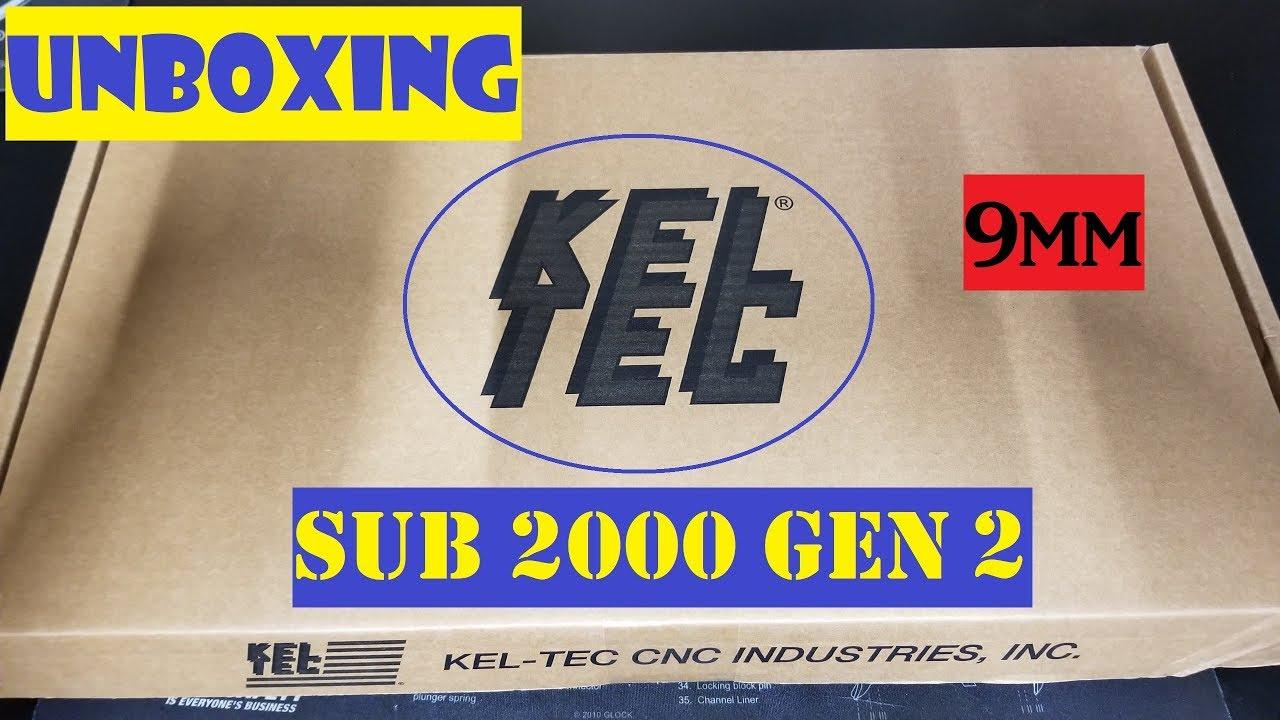 Unboxing 003 - KelTec Sub 2000 Gen2 9mm