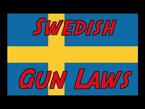 Overview of Swedish Gun Laws