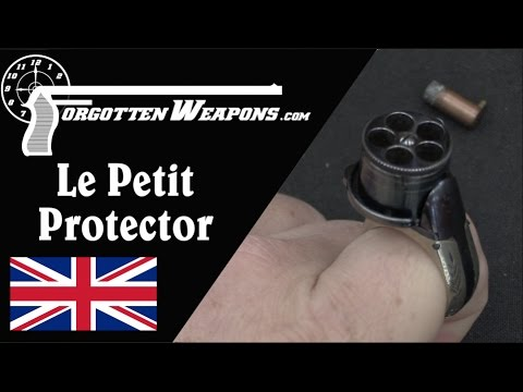 Le Petit Protector Ring Pistol: A Modern Antique