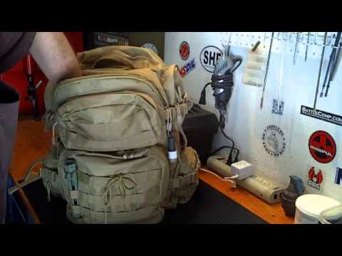 Bug out bag ideas and contents