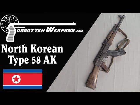 North Korean Type 58 AK