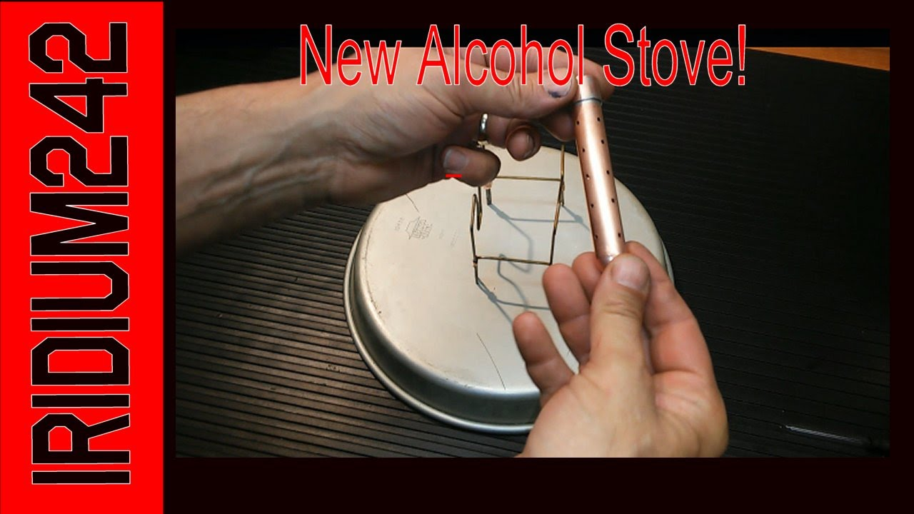 New Alcohol Stove Design!