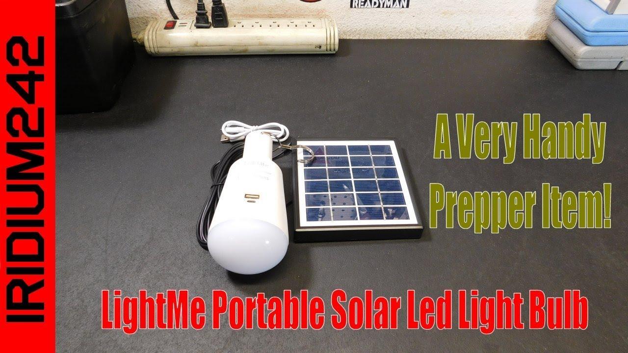 LightMe Portable Solar Led Light Bulb