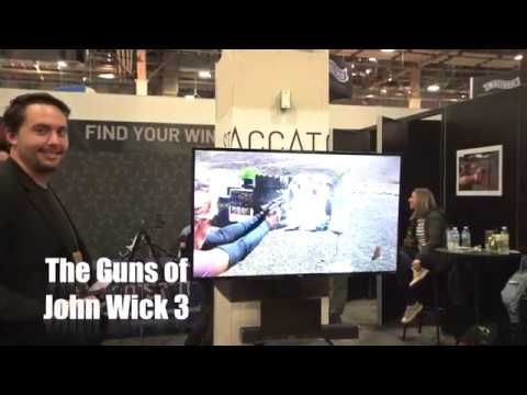 SHOTShow 2019 Taran Butler And The Guns of John Wick 3