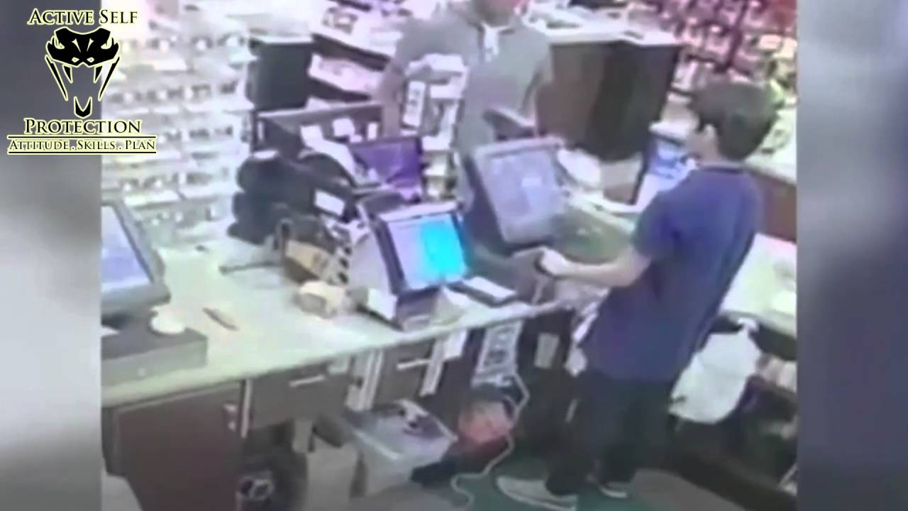 Armed Robber Kills Store Owner Whose Gun Wasn't Ready