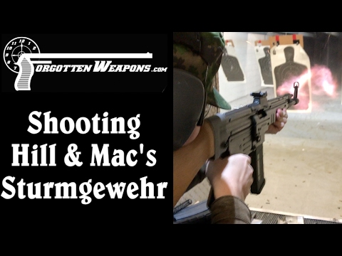 Shooting the HMG Sturmgewehr & Why it Malfunctioned