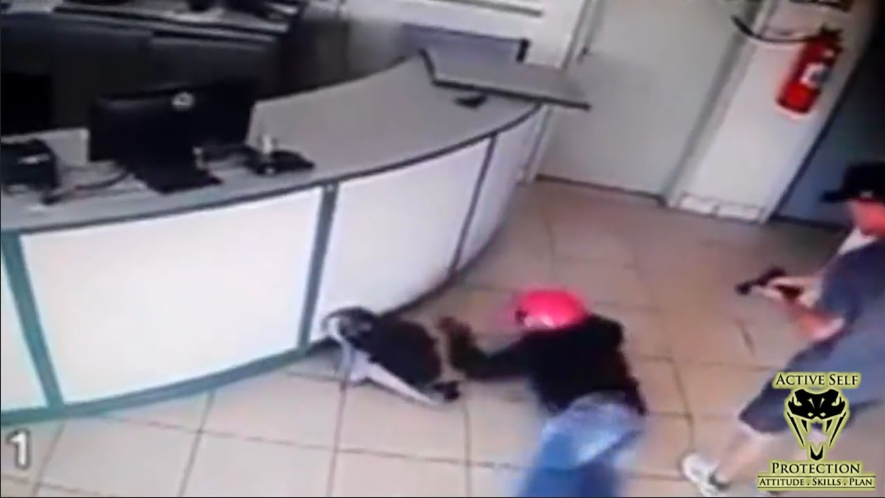 Armed Robber Eats Lead | Active Self Protection