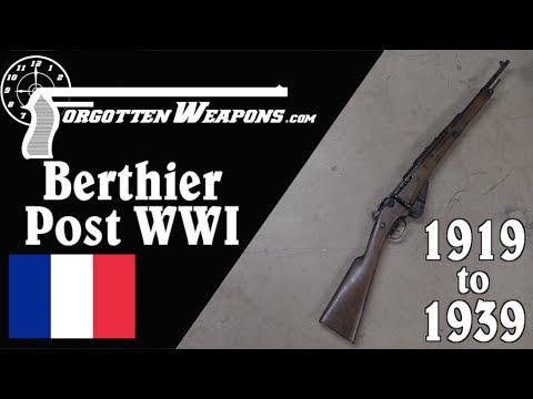 The Berthier After World War One