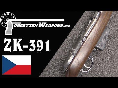 Italian Trials Czech ZK-391 Semiauto Rifle