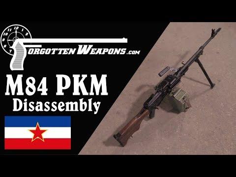 Yugoslav M84 PKM: History, Mechanics, and Disassembly