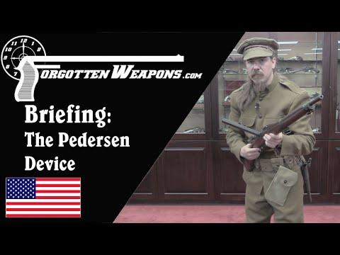 Secret Briefing: The Pedersen Device