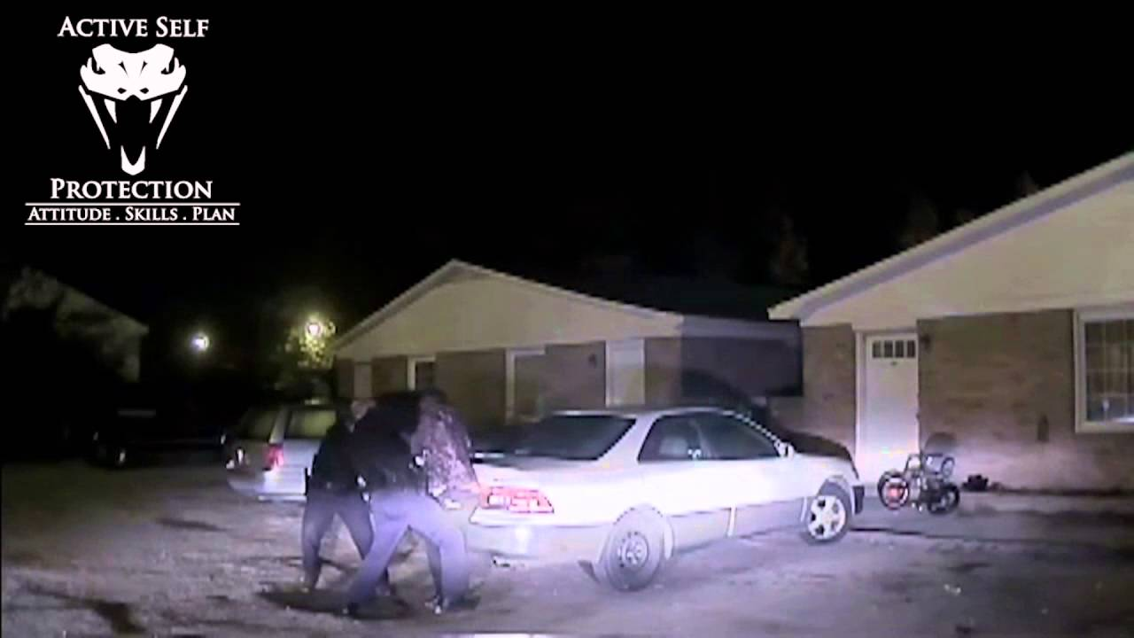Officer Stops Suspect Who Shot His Partner | Active Self Protection