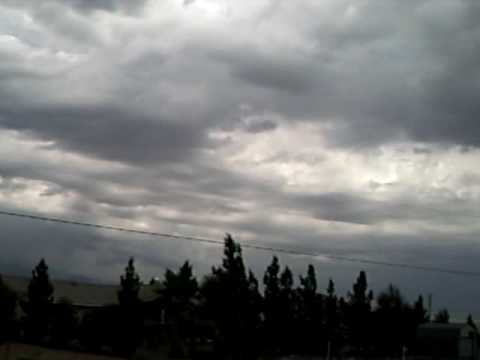 July 23 2009 Stormy Weather in Pahrump Nevada