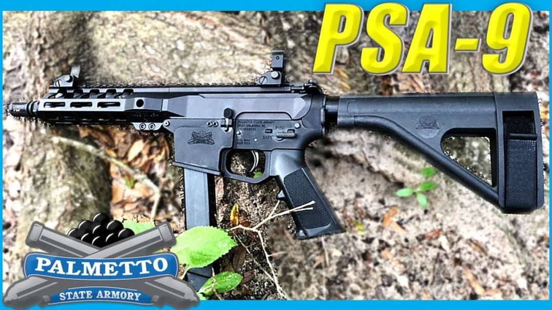 9mm Glock AR Pistol Palmetto State Armory