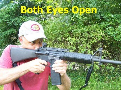 Shooting: Both Eyes Open