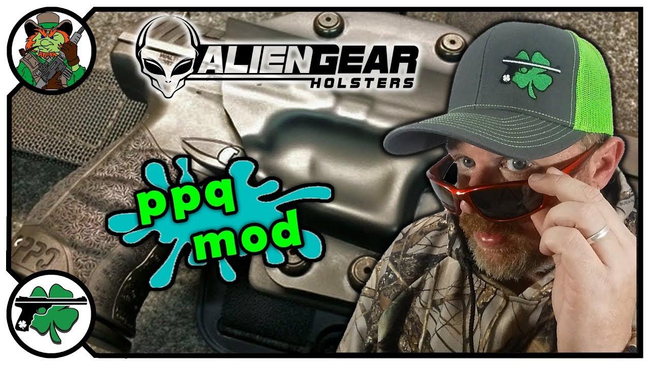 Alien Gear Cloak Mod Drop Leg Holster Modification For Full Size Walther PPQ