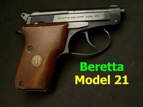 Beretta Model 21 22LR Pistol Review