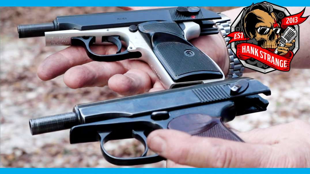Hungarian FEG PA 63 // Bulgarian Makarov 9x18 // Surplus Pistols