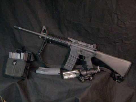 AR 15 Semi-Auto Rifle