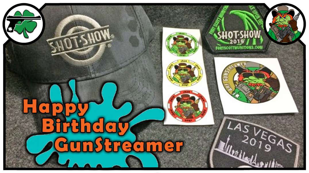 Happy Birthday GunStreamer Giveaway!