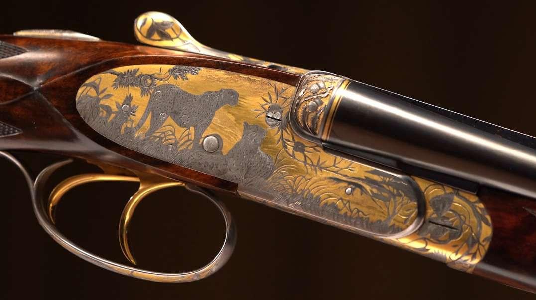 John Rigby Golden Masterpiece Rifles