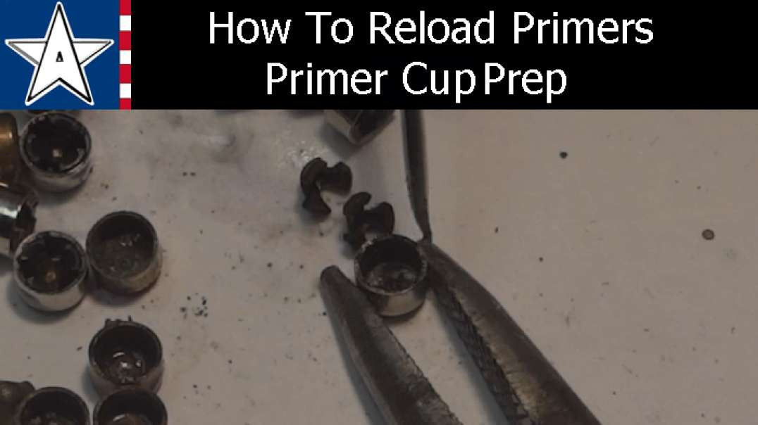 How to make primers - Primer cup preparation